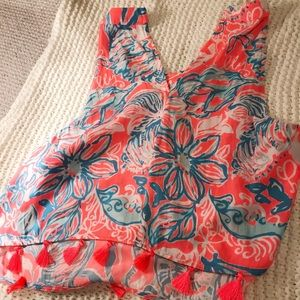 Lilly Pulitzer Dresses - Lilly Pulitzer Selina Halter Top and Skirt Set
